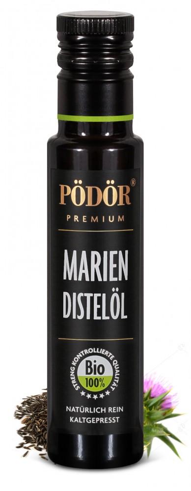 Mariendistelöl - Bio