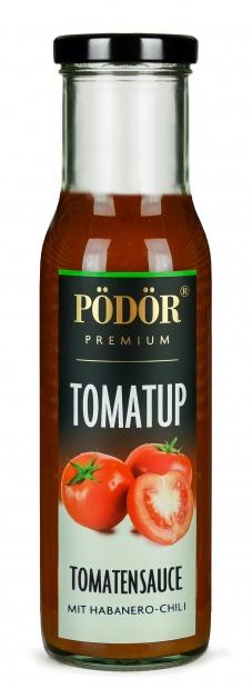Tomatup mit Habanero-Chili - Tomatensauce_1