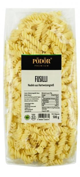 Fusilli - Nudeln aus Hartweizengrieß_1