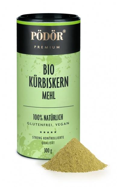Bio Kürbiskernmehl teilentölt_1