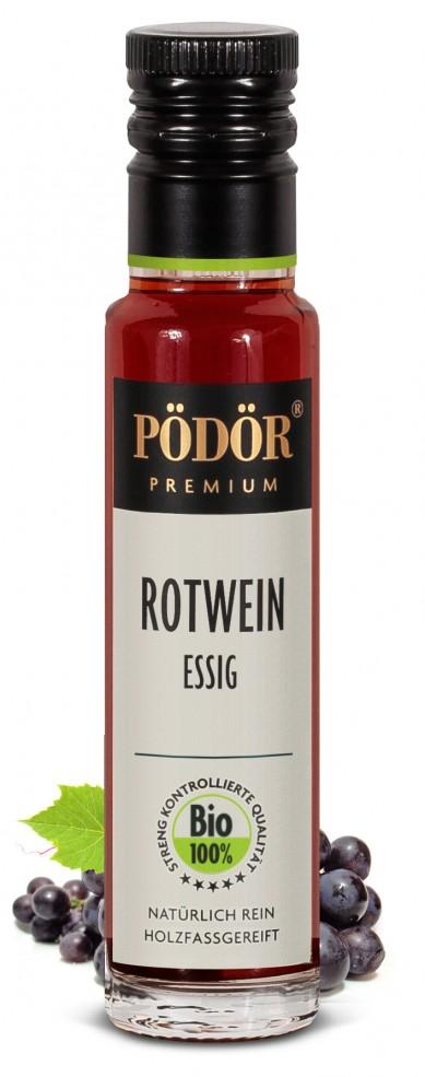 Rotweinessig - Bio