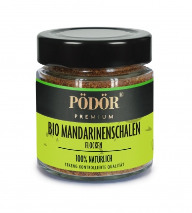 Bio Mandarinenschalen - Flocken_1