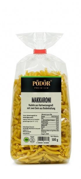 Makkaroni - Nudeln aus Hartweizengrieß mit zwei Eiern aus Bodenhaltung_1